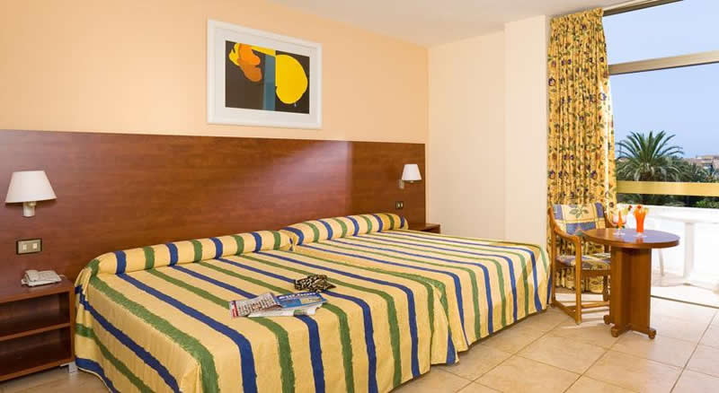 a double bedroom at the best tenerife hotel