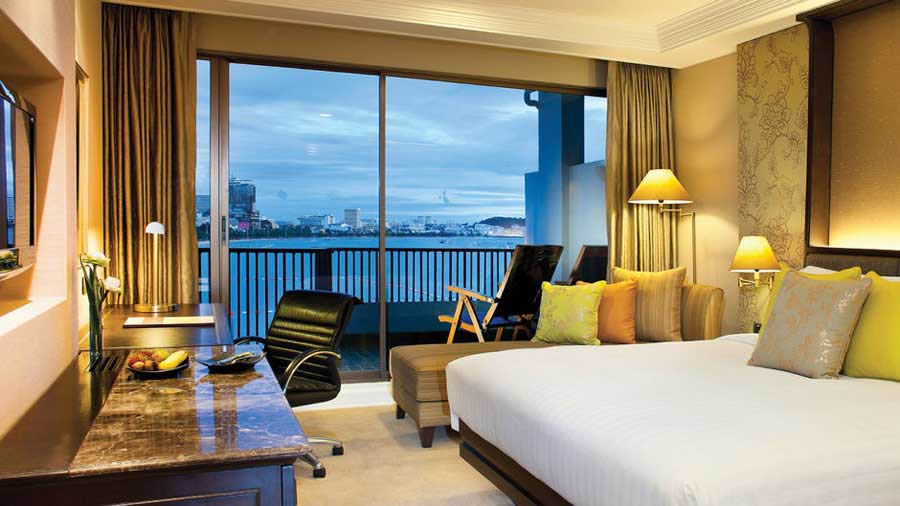 a seaview room