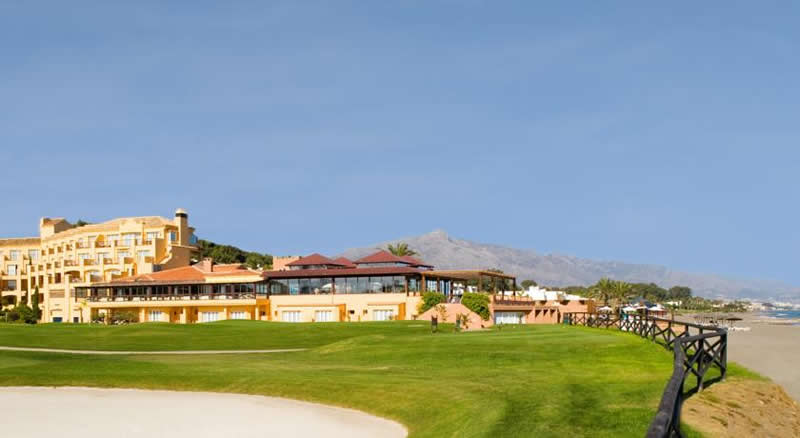 the guadalmina golf and spa hotel is situated on guadalmina golf course