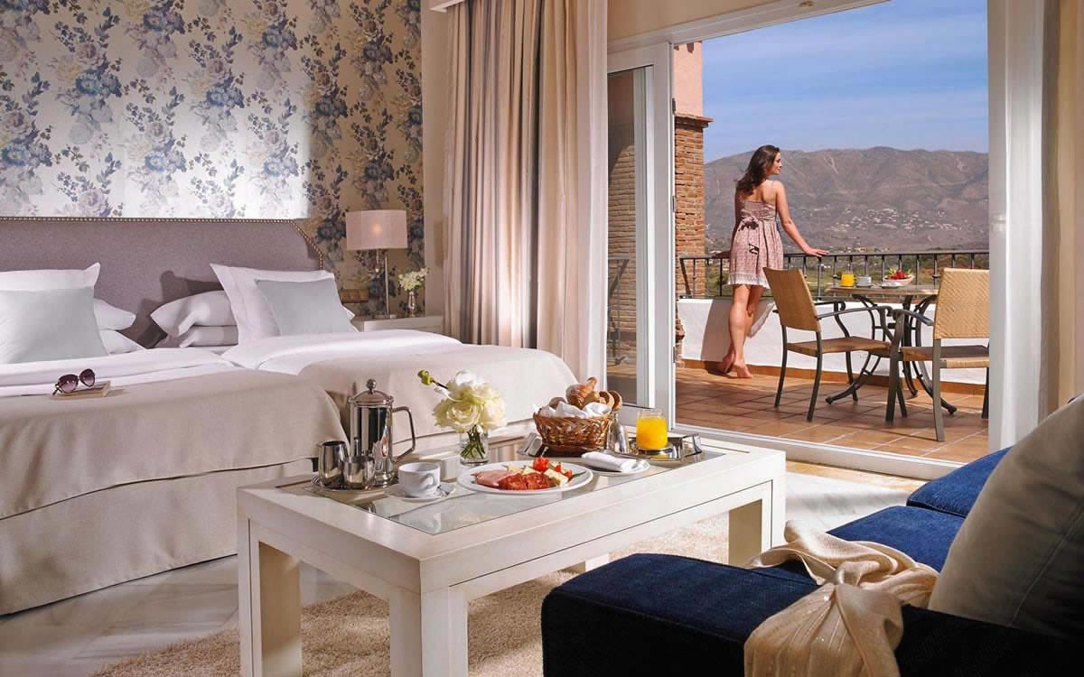 bedroom at the la cala golf resort hotel
