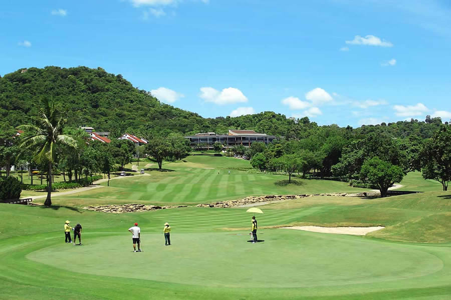 Laem Chabang International Country club - a must play course for any golf holiday in Pattaya, Thailand