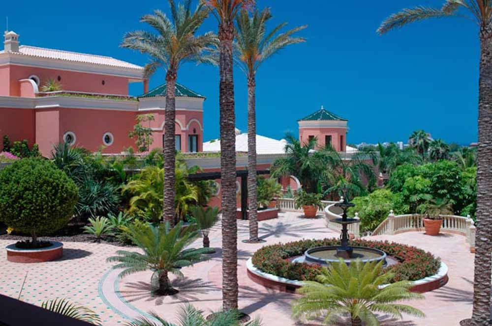the courtyard - hotel las madrigueras, tenerife