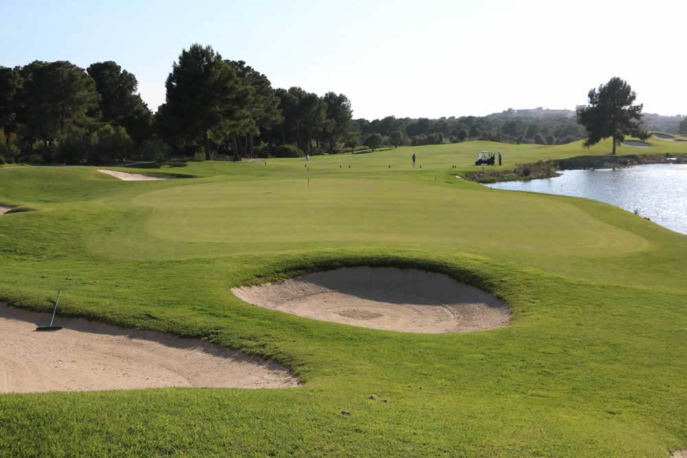 lumine hills 15th hole, costa dorada