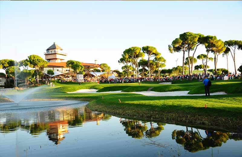 the Turkish Airlines Open