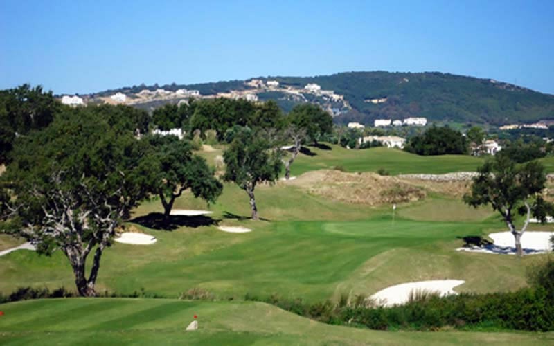 san roque new 12th green