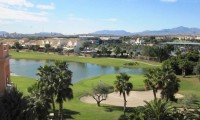 the alicante golf course viewed from the hotel