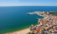 an ariel view of Cascais