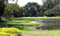 the signature par 3 hole at Bangpra Golf Club