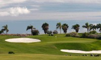 the 6th green with spectacular ocean views