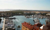 view of the  Vilamoura marina  from a balcony