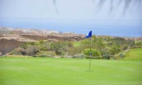 the 5th green at Golf del Sur golf Course