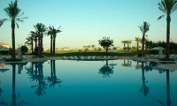 a view of the Mar Menor golf course from the pool area