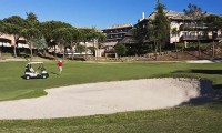 golfing on the islantilla golf course