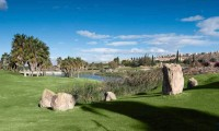the 2nd hole at La Finca Golf Club