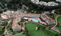 ariel view of the la manga golf resort and the hotel principe felipe