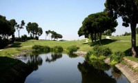 a lake on the 12th fairway at llavaneras