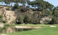 15th green at lumine hills golf course