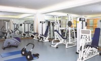 the fitness room at the real bellavista hotel & spa
