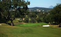 tree lined fairway on san roque new