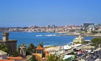 a magnificent view of Estoril, with Cascais in the background