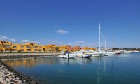 a view of the tivoli porimao hotel from the marina