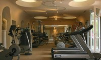 the fitness room - villa padierna palace hotel, costa del sol, spain