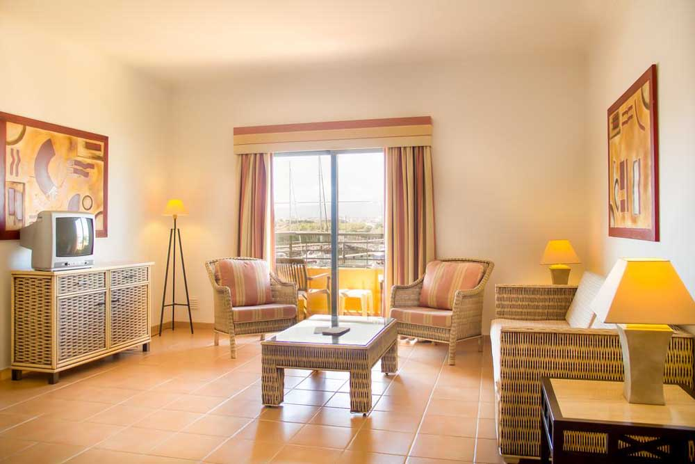 an apartment at the tivoli marina portimao hotel